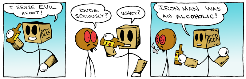 The Bionic Beer Man Pt. 1
